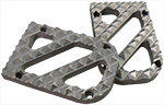 Stainless Steel Hunter Tread for Wide Knight Design Foot Pegs