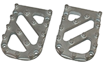 Stainless Steel Trakker Tread for Wide Knight Design Foot Pegs